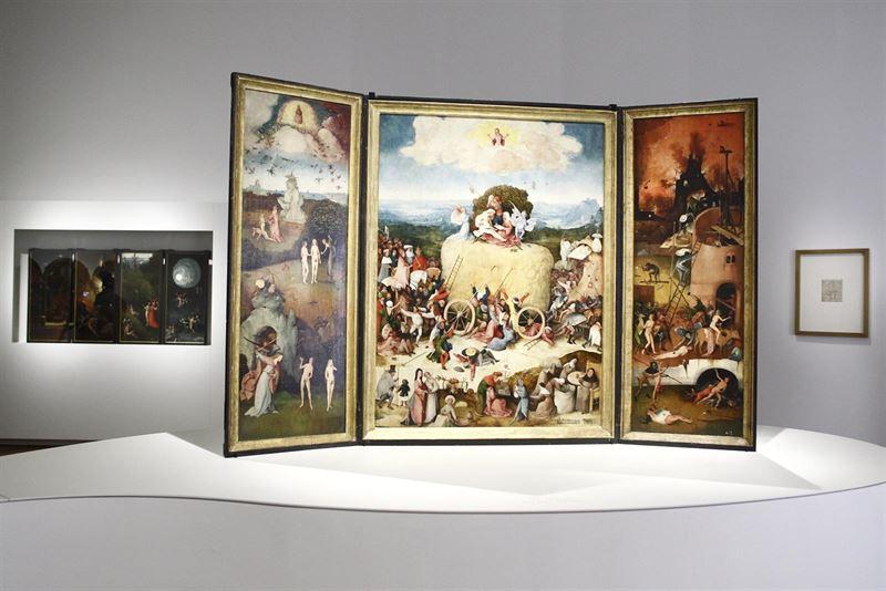 """News News Las """"obras maestras fundamentales"""" del Bosco, en el Prado"""