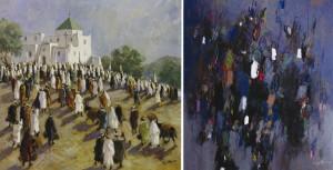 Peinture Peinture Maroc  Exposition: Plus de 40 ans de peinture de Mohamed Krich à Casablanca