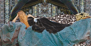 Peinture Peinture Maroc  Exposition: Majida Khattari évoque la sensualité avec pudeur