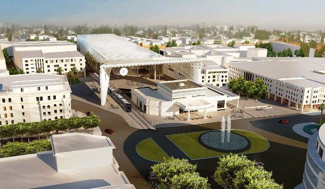 Architecture Architecture La nouvelle Gare Rabat Ville, dans la continuité de l'art déco marocain