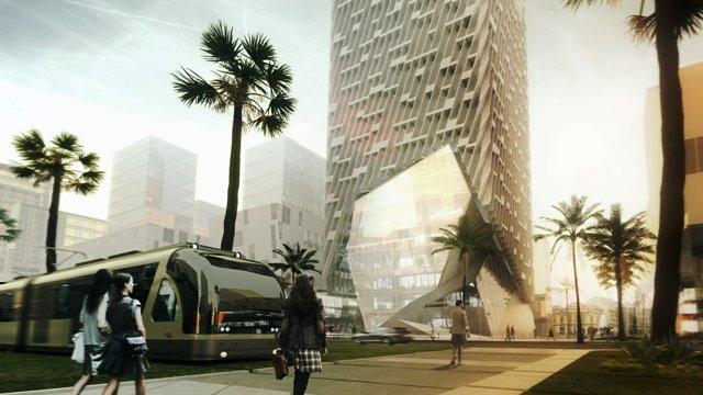 Architecture Architecture La tour Casablanca Finance City sera prête à l'été 2018