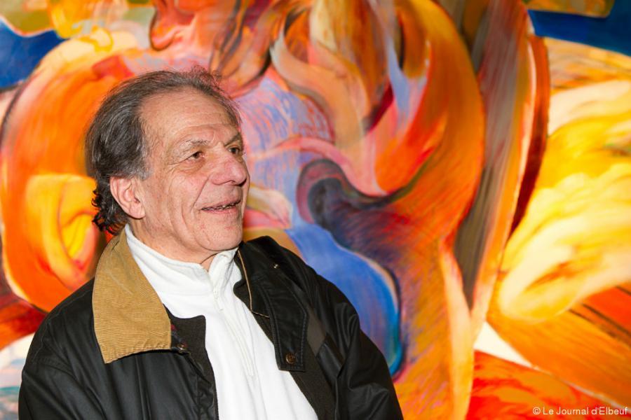 News News Saint-Aubin-lès-Elbeuf Exposition de peinture à la crypte : la joie de vivre de Jean Rougé